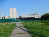 Строящееся здание, ул. Вокзальная, 26а