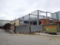 Строящееся здание, ул. Комсомольская, 11стр