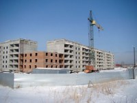 Строящийся дом, ул. Пионерская, 24стр