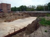 Строящийся дом, ул. Попова, 1а