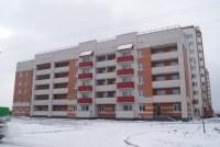 Строящийся дом, ул. Лунная, 51