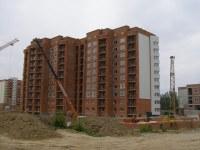 Строящийся дом, ул. Первомайская, 123а