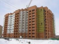 Строящийся дом, ул. Рогачёва, 18
