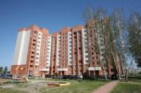 Строящийся дом, ул. Рогачёва, 18а