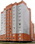 Строящийся дом, ул. Рогачёва, 20а