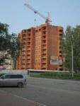 Строящийся дом, ул. Красная Сибирь, 31стр